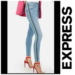 EXPRESS High Waisted Women's Skinny Jeans - Size 2 (EUC)